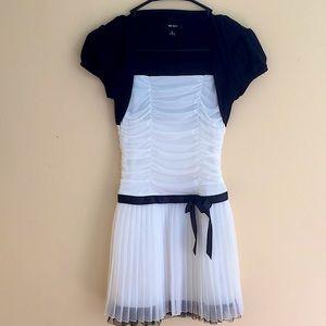 Girl's BCX Ruffled Dress